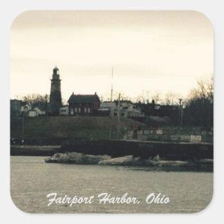 Fairport Hafen, Ohio-Foto Aufkleber