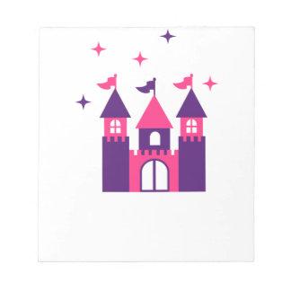 fairy castle notizblock