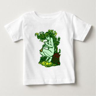 fairy flute player baby t-shirt
