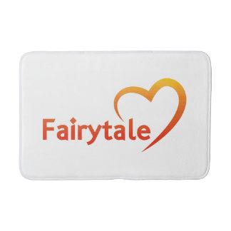Fairytale mit Liebe Badematte