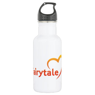 Fairytale mit Liebe Edelstahlflasche