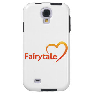 Fairytale mit Liebe Galaxy S4 Hülle