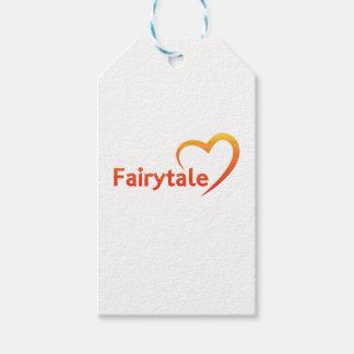 Fairytale mit Liebe Geschenkanhänger