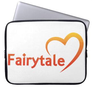 Fairytale mit Liebe Laptopschutzhülle