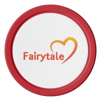 Fairytale mit Liebe Poker Chips