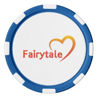 Fairytale mit Liebe Poker Chips Set