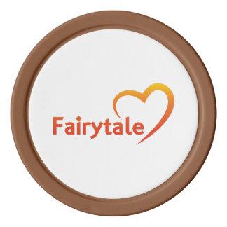 Fairytale mit Liebe Pokerchips