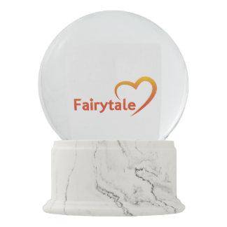 Fairytale mit Liebe Schneekugel