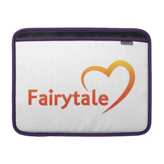 Fairytale mit Liebe Sleeve Fürs MacBook Air