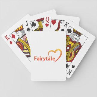 Fairytale mit Liebe Spielkarten
