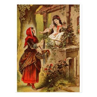 Fairytalesque. Schneewittchen und Aschenputtel Postkarte