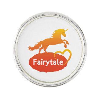FairytaleUnicorn mit Liebe Anstecknadel