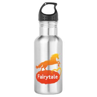 FairytaleUnicorn mit Liebe Edelstahlflasche