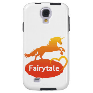 FairytaleUnicorn mit Liebe Galaxy S4 Hülle