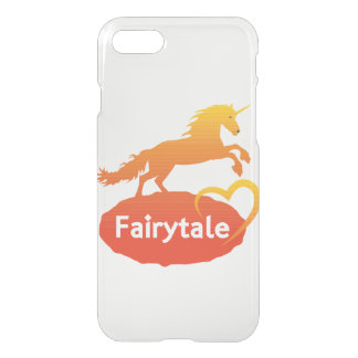 FairytaleUnicorn mit Liebe iPhone 8/7 Hülle