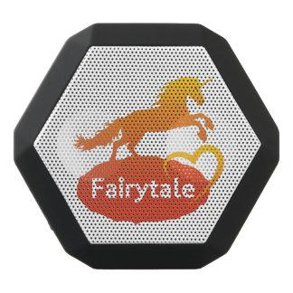 FairytaleUnicorn mit Liebe Schwarze Bluetooth Lautsprecher