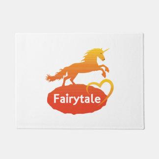 FairytaleUnicorn mit Liebe Türmatte