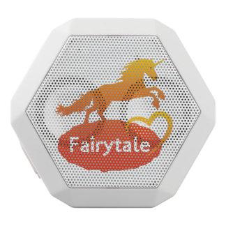 FairytaleUnicorn mit Liebe Weiße Bluetooth Lautsprecher
