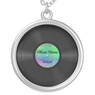 Fake-kundenspezifische Vinylaufzeichnung Personalisierter Schmuck