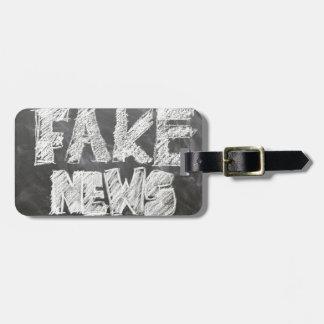 Fake-Nachrichten Gepäckanhänger