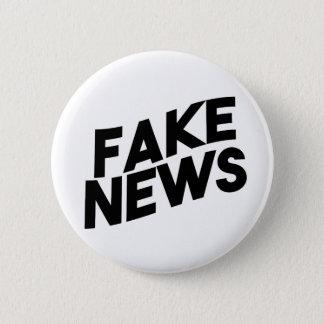 Fake-Nachrichten-moderne Posten-Wahrheit Runder Button 5,7 Cm