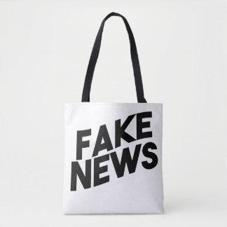 Fake-Nachrichten-moderne Posten-Wahrheit Tasche