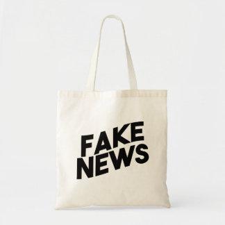 Fake-Nachrichten-moderne Posten-Wahrheit Tragetasche