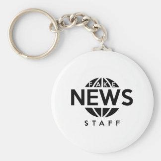 Fake-Nachrichten-Personal Schlüsselanhänger
