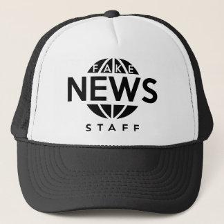 Fake-Nachrichten-Personal Truckerkappe