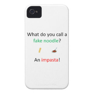 Fake-Nudel-Witz iPhone 4 Cover