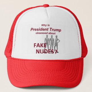 Fake NUDES Nachrichten Truckerkappe