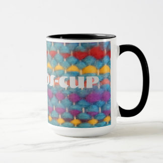 Fake Woolly cup Tasse