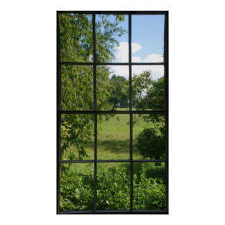 Fakefenster Posterdrucke