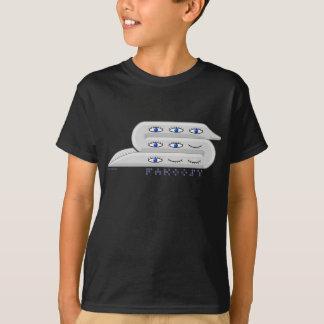 Fakoosy groß dunkel T-Shirt