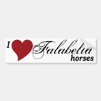 Falabella Pferd Autoaufkleber