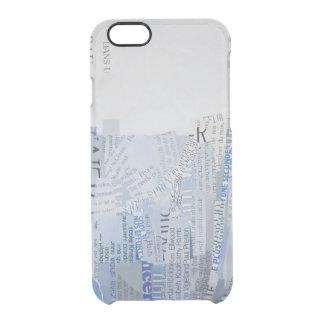 Falaise Durchsichtige iPhone 6/6S Hülle