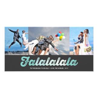 FaLaLaLaLa lustige Bild Karte
