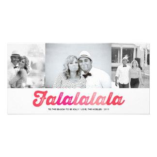 FaLaLaLaLa lustige Karte