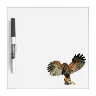 Falke-Flattern Wings Aquarell-Malerei Memoboard