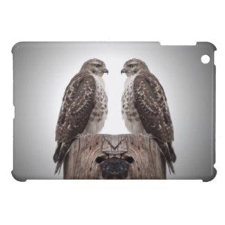 Falken auf einem Posten Hüllen Für iPad Mini
