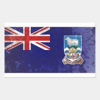 Falklandinseln Rechteckiger Aufkleber