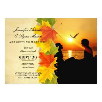 /fall 12,7 x 17,8 cm einladungskarte