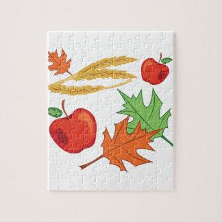 Fall-Äpfel Puzzle