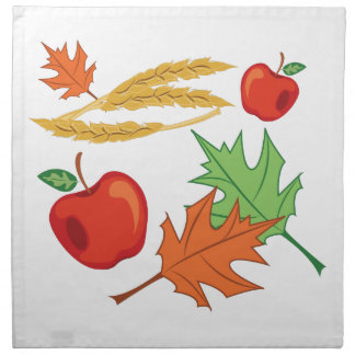 Fall-Äpfel Serviette