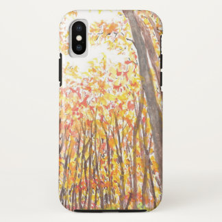 Fall-Bäume iPhone Fall iPhone X Hülle