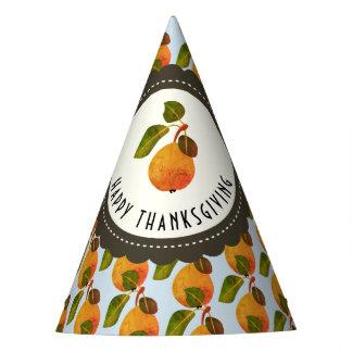 Fall-Birnen-Frucht-Erntedank Partyhütchen