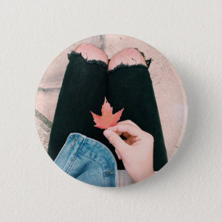 Fall-Blicke Runder Button 5,1 Cm