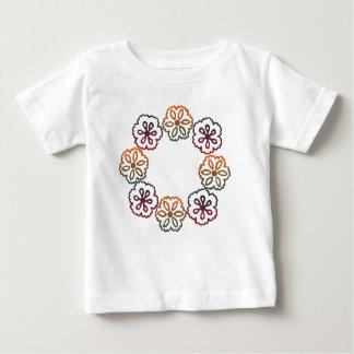 Fall-Blumen Baby T-shirt