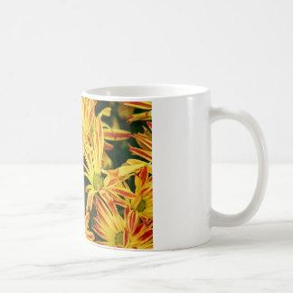 Fall-Blumen-Tasse Kaffeetasse
