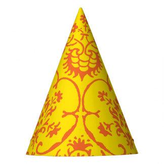 Fall-Damast-Party-Hut Partyhütchen